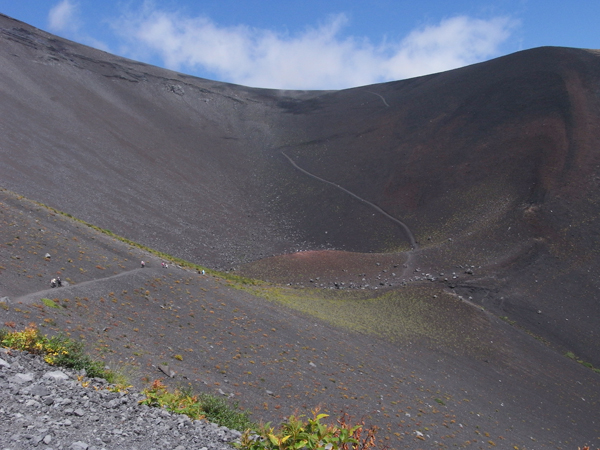 Houei Crater on Mt. Fuji