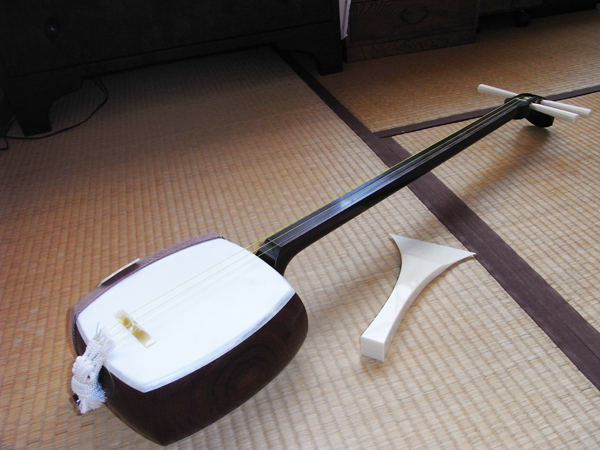 Shamisen, Japanese musical instrument